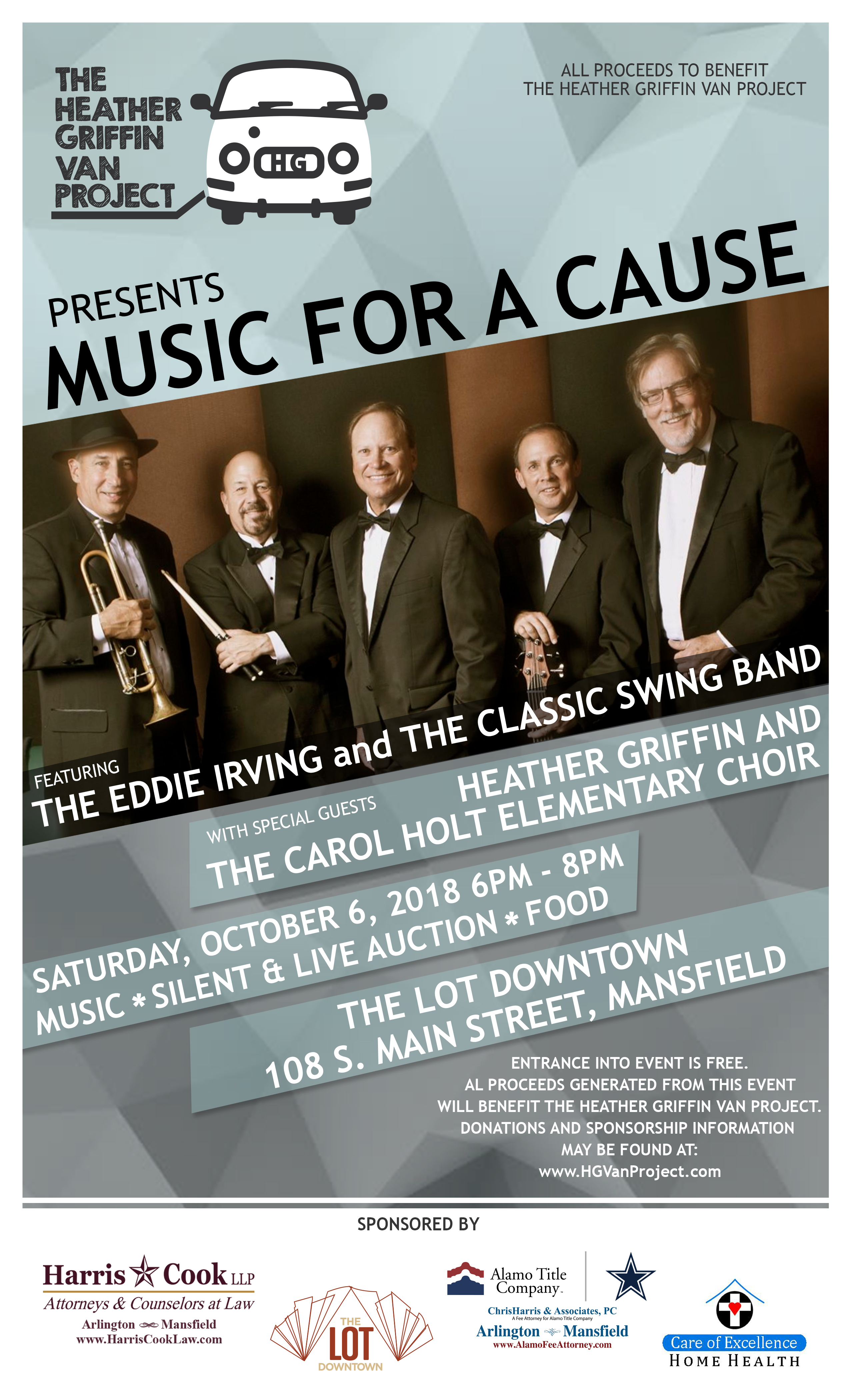 Music For A Cause flyer